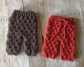 Crochet Pattern for Texture Weave Baby Pants or Shorties - Multiple Sizes - Welcome to sell finished items