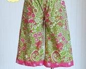 Avery Lounge Pants Pattern- INSTANT DOWNLOAD PDF Pattern and Tutorial- Shorts Pattern- Capri Pants Pattern- Ruffle Pants Pattern