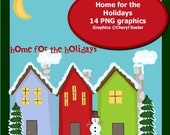 Home for the Holidays 14 PNG graphics