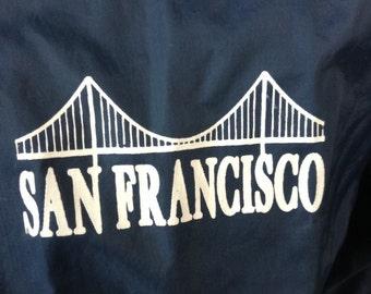 Vintage San Francisco Golden Gate Bridge jacket M USA