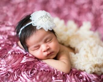 baby crown- baby crown headband - newborn crown - baby crown tiara - baby crown prop - princess crown - girls crown headband - crown - baby