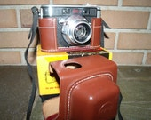 Kodak Signet 40 Film Camera and Field Case Original Box