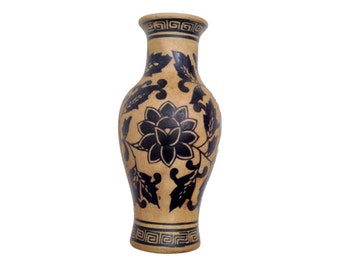 Black Figured Ware reproduction Greek pottery vase