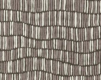 Shimmer Stripe in Stone Metallic, Jennifer Sampou for Robert Kaufman Fabrics, 100% Cotton Fabric, AJSP-14252-155 STONE
