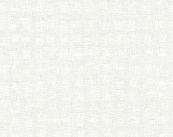 Doe Weave in White, Carolyn Friedlander, Robert Kaufman Fabrics, 100% Cotton Fabric, AFR-15028-1 WHITE
