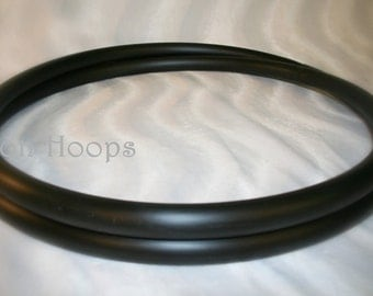 Naked UNTAPED travel collapsible budget HULA HOOP. Any tubing. Any diameter. Sanding available