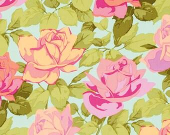 Rose Garden by Martha Negley in Rose Toss Bright