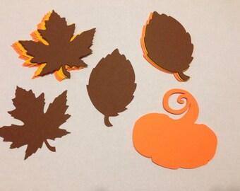 Custom Die Cuts - Fall Leaves