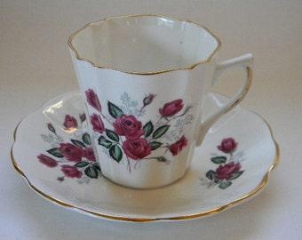 TEACUP, Vintage LEFTON Bone China Teacup