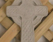 Hanging Cross Solid Concrete