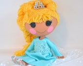 Snow Queen - Custom Lalaloopsy Doll by PistachioLoopsy