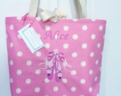 personalized ballet dance bag