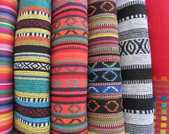 Yoga mat bags - custom made - choose your fabric at sidebar - STUNNING woven cotton fabrics.
