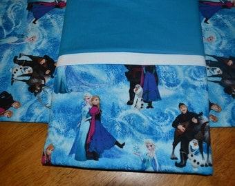 Frozen - Elsa - Let it go - pillow cases std/queen size, handmade