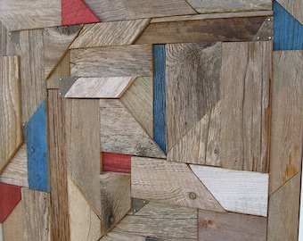 Rustic Geometric Wall Art FF1