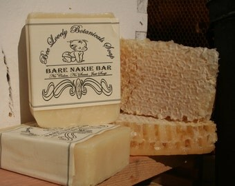 Unscented Honey Soap, Natural Honey Soap, Unscented Soap, Homemade Soap, Honey Soap Bars, Unscented Bar Soap, Cold Process Honey Soap