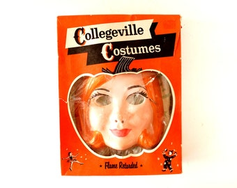 Vintage Collegeville Costumes Fairy Queen in Complete in Original Box, Size 12 M (c.1950s) - Halloween Collectible and Party Decor