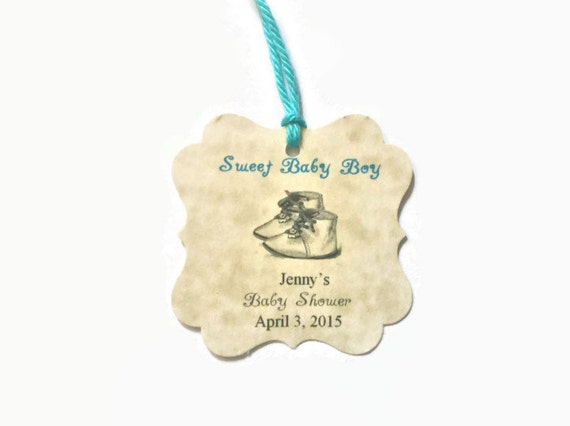 Baby Boy Gift Tags : Baby boy gift tags shower baptism by
