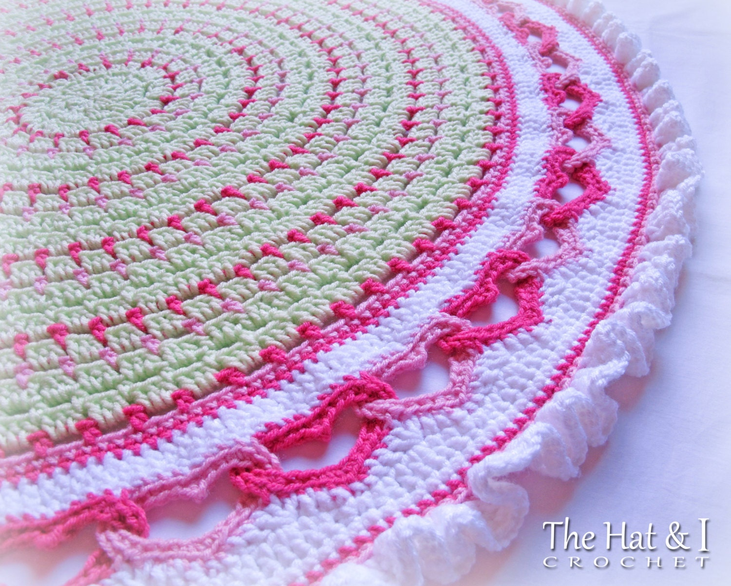 Crochet Afghan Patterns With Hearts : CROCHET PATTERN Baby Love a crochet baby blanket pattern