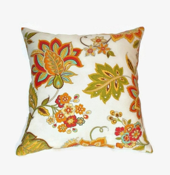 16x16 Decorative Pillow Covers : Multicolor 16x16 Decorative Pillow Cover Off White Background
