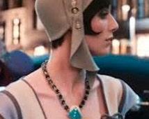 Great Gatsby, Jordan Baker style hat.