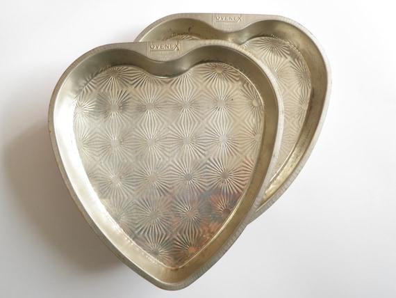 Ovenex Heart Shape Pans Baking Tin Cake 8 Star By Wildplumtree