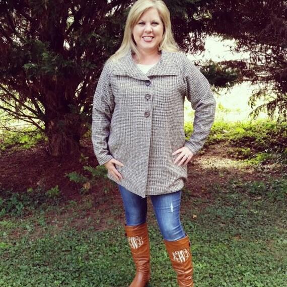 The Esplanade Coat for Women pdf sewing pattern by Seamingly Smitten; coat pattern; jacket pattern; winter coat; fall coat