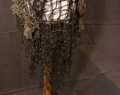 Mermaid Netted Wrap Skirt Bustle