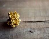 yellow rose art, rustic home decor, dried rose, yellow and brown decor, floral nursery decor, botanical art print, romantic home decor
