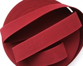 "2"" Red Wine Stretch Elastic Band"