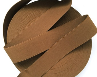 "2"" Brown Stretch Elastic Band"