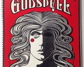 Godspell Recycled Record Album Cover Book