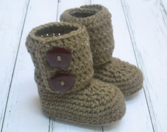 COUPON CODE sale15 Crochet Baby Boots, Booties, Photo Props Boy, Girl Baby Shower- 0-3m, 3-6m, 6-12m-Many colors available