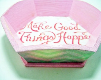 Good Things Decoupaged Tray
