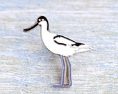 British Avocet Bird Badge
