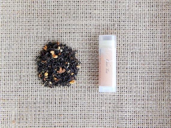 Chai Tea Lip Balm - Chai Spice, Cardamom, Ginger, Cloves