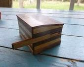 antique box with secret