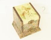 Antique Victorian Dresser Collar Jewelry Trinet Box