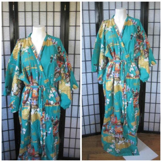 Cotton japanese bathrobes