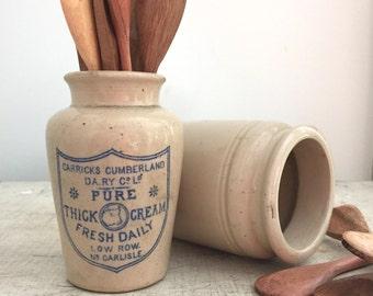 Vintage set of 3 miniature wooden spoons