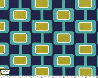 Urbanista Madison - Navy - Cotton Print Fabric from Michael Miller
