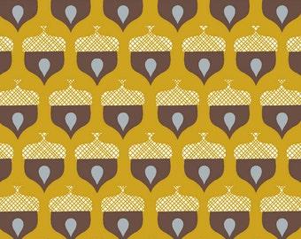 Westwood - Acorn - Organic Cotton Print Fabric from Monaluna