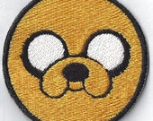 Adventure Time Jake Patch - Iron On Patch