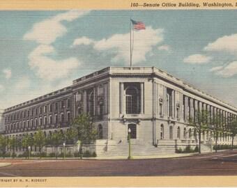 Washington D.C., Senate Office Building - Vintage Postcard - Postcard - Unused (SS)