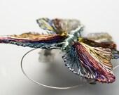 Butterfly Brooch Butterfly brooch pin Butterfly jewelry Unusual brooch Handmade wire jewelry  Insect jewelry  Insect art  Insect brooch.