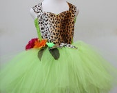 Katy Perry Roar Dress - Katy Perry Dress  ,  Roar Dress  - Jungle costume - Katy Perry Green Dress - Lilo and stitch Dress