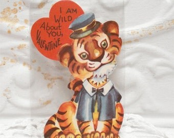1950s Used Tiger Valentine USA