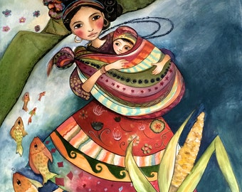 Mayan folktales 2  mother and child