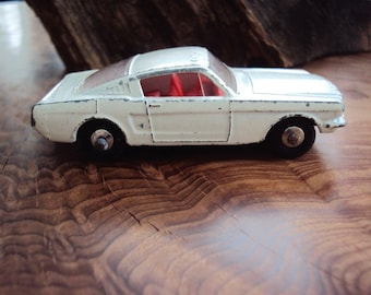 Vtg. Lesney Matchbox No. 8 Mustang Fastback Autosteer
