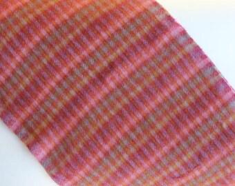 Retro Plaid Scarf Cashmere Feel Pretty Colors